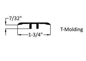 Sedona T-mold