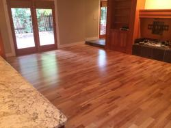 american cherry wood floor in living room1