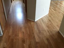 white oak wood floor in hallway2