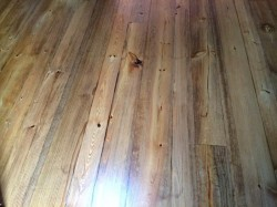 heart pine wood flooring